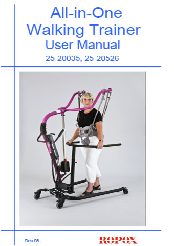 All-in-one Walking trainer User manual