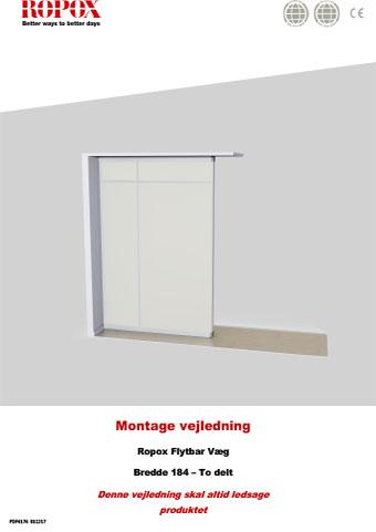 Ropox Montage vejledning - Flytbar Vægge