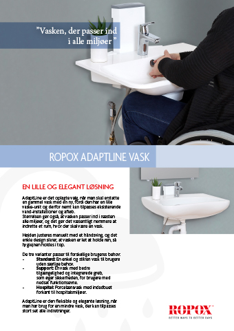 Ropox adaptline vask