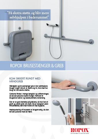 Ropox brusestænger & Greb ropox