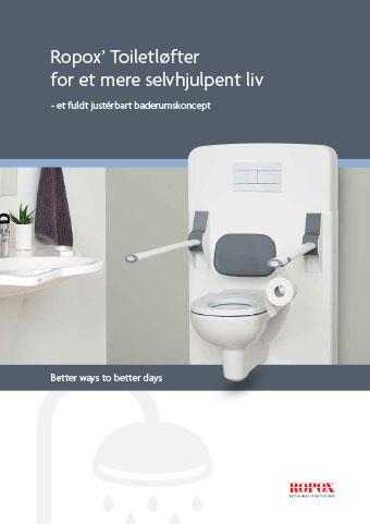 Folder Ropox' Toiletløfter for et mere selvhjulpent liv