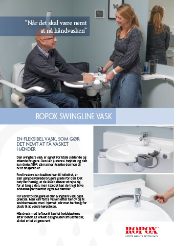 Datablad Ropox SwingLine Vask