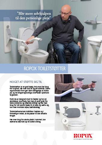 Ropox toiletstøtter