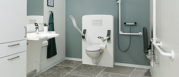 Toilet lifter / Toiletløfter unit