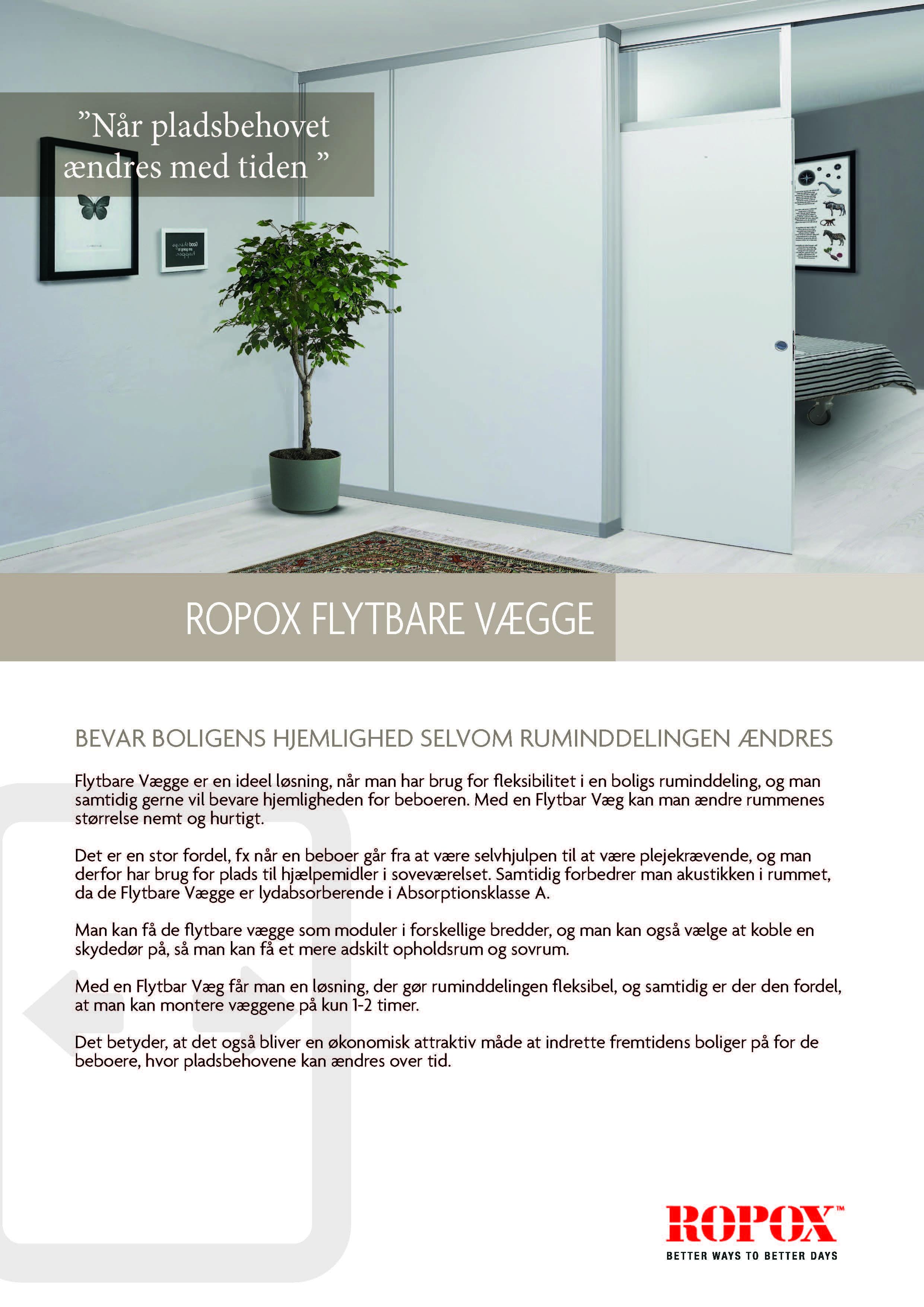 Datablad Ropox Flytbare Vægge