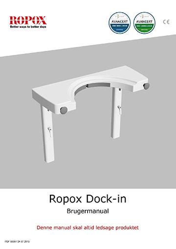 Ropox brugervejledning - Dock-in til Svingbar Vask