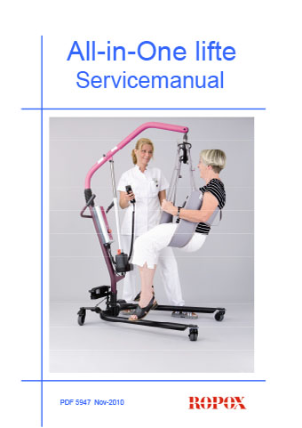 Service manual All in One lifte