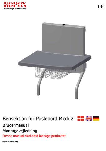 Bensektion for Puslebord Medi 2