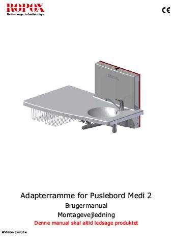 Adapterramme for Puslebord Medi 2