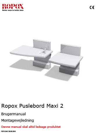 Ropox Puslebord Maxi 2