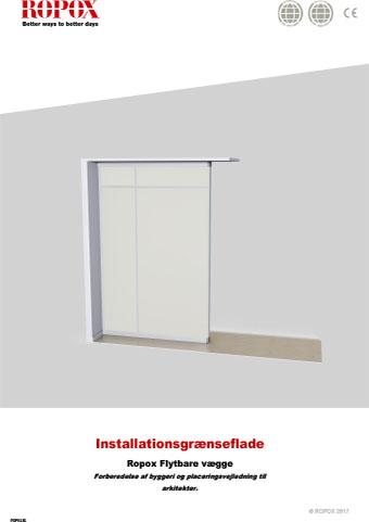 Ropox Installationsgrænseflader - Flytbare Vægge