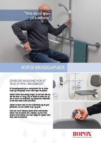 Datablad Ropox Baderum Bruseklapsæde