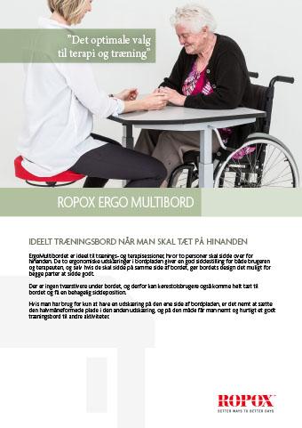 Datablad Ropox Ergo MultiBord