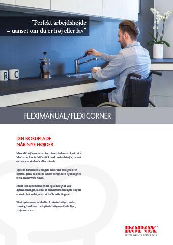 Brochure Ropox Kitchen Worktops FlexiManual/FlexiCorner