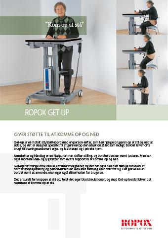 Datablad Ropox Get Up Bord