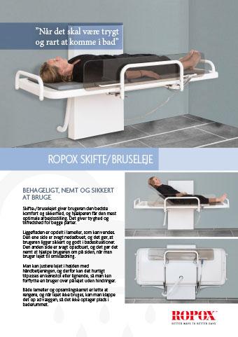 Datablad Ropox skifte/bruseleje