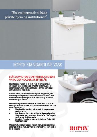 Datablad Ropox StandardLine Vask