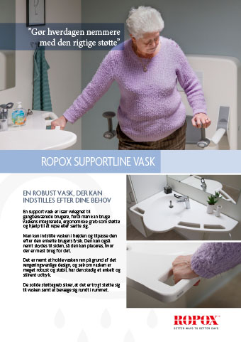 Datablad Ropox Supportline vask