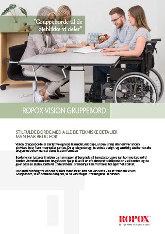 Datablad Ropox Vision Gruppebord