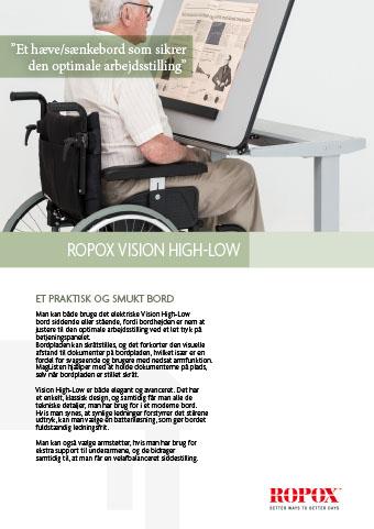 Datablad Ropox Vision High-Low Borde