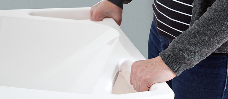 AdaptLine washbasin / håndvask support
