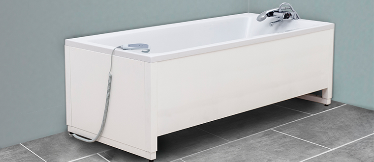 Bathtub / badekar example