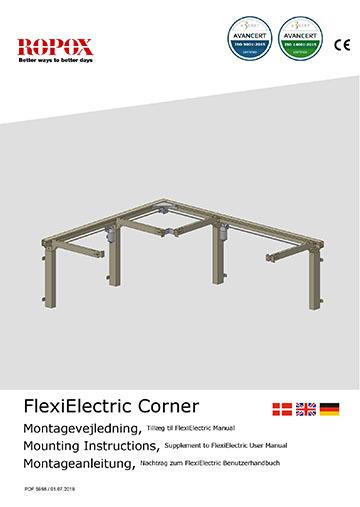 Ropox bruger- og montagevejledning - FlexiCorner Electric tillæg