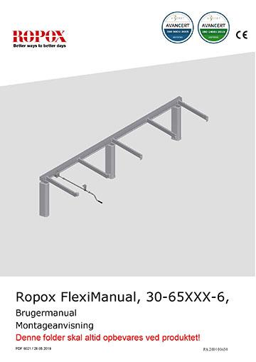 Ropox bruger- og montagemanual - FlexiManual