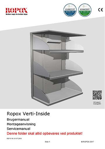 Ropox bruger- og montagevejledning - VertiInside