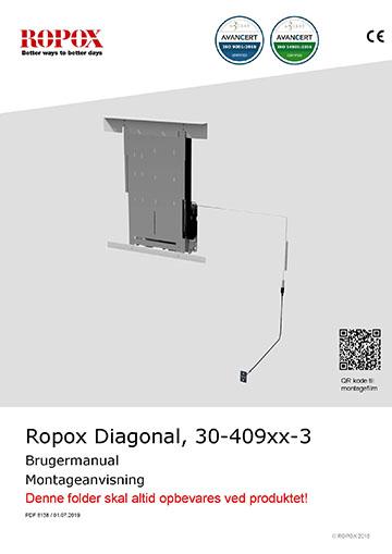 Ropox bruger- og montagevejledning - Diagonal