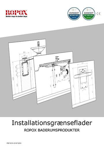Ropox Installationsgrænseflader - Badrumsprodukter