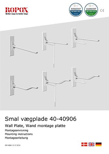 Vægbeslag til Toiletstøtter