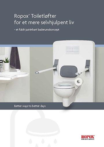 Folder Ropox Toilet Løfter for et mere selvhjulpent liv