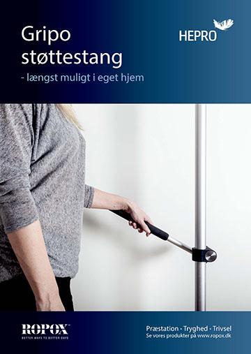 Brochure Gripo Støttestang