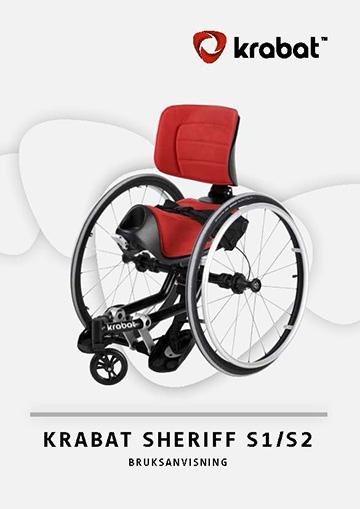Brugervejledning - Krabat Sheriff Plus Aktiv kørestol
