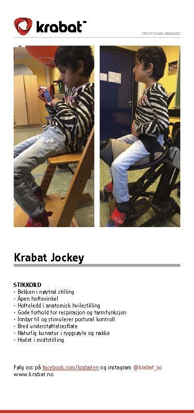 Brochure Krabat Jockey Aktivitetsstol