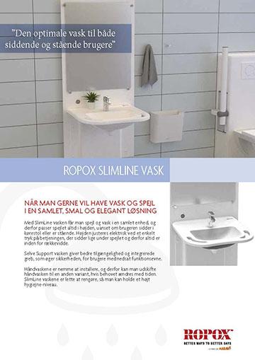 Datablad Ropox SlimLine Vask