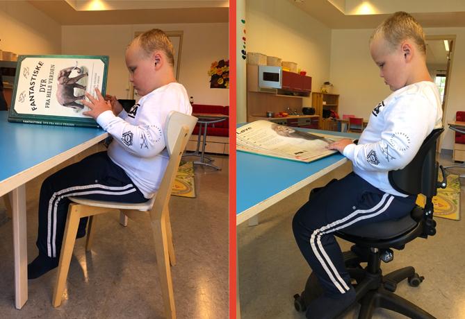 Bjørn Henrik før og efter