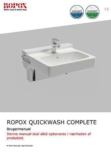 Ropox brugervejledning - QuickWash